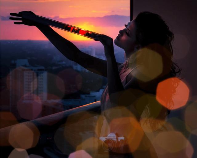 David Drebin, 'Sunset Lover', 2019, Photography, Digital C Print, Contessa Gallery