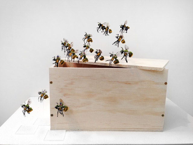 , 'Bombus - The Great Escape,' 2013, May Space