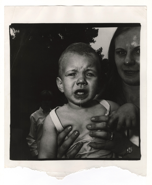 , 'Mom Holding Crying Child, New Jersey,' 1967, Etherton Gallery