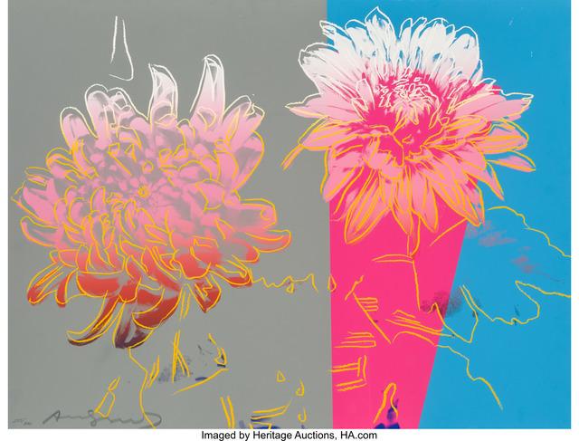 Andy Warhol, 'Kiku', 1983, Print, Screenprint in colors, Heritage Auctions