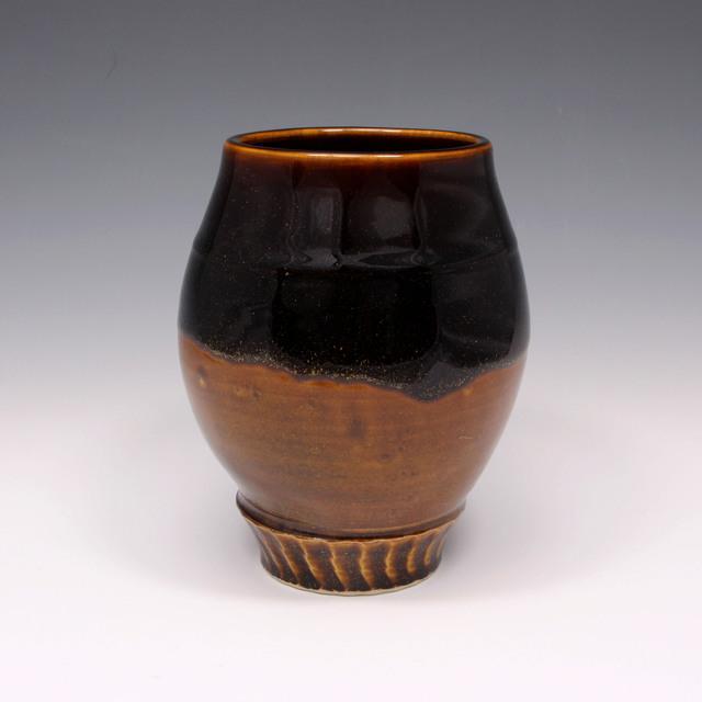 Danucha Brikshavana, 'Tenmoku Gold Vase', 2019, Springfield Art Association