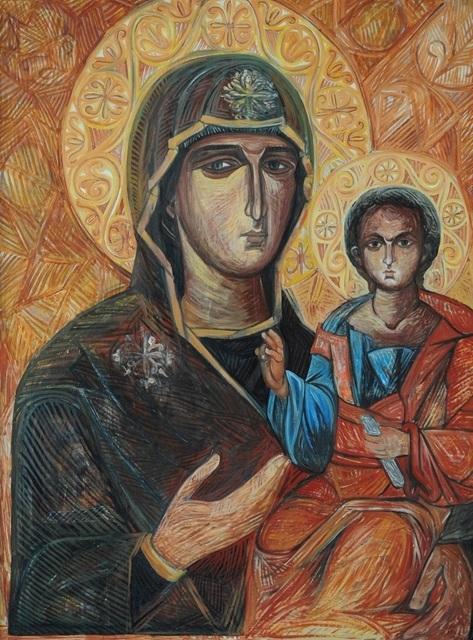 Esther Gonzalez, 'Virgen Bizantina', n/a, Galería Rocío Castelo