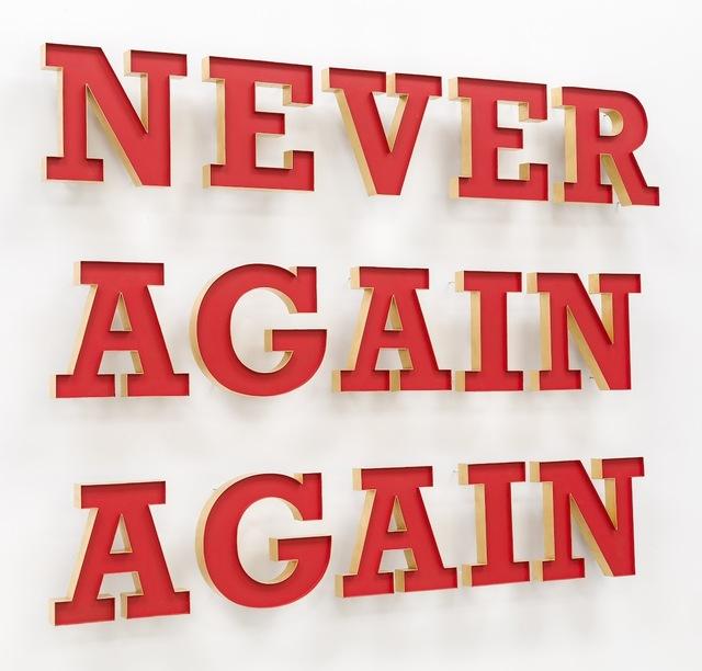 , 'Never Again Again,' , DEAN PROJECT