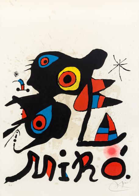Joan Miró, 'Lisbonne', 1974, Hindman