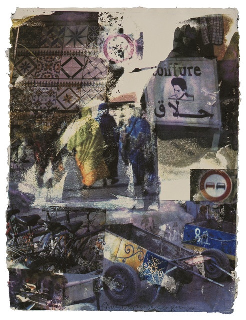 Robert Rauschenberg, 'Slink', 2000, Print, 12 color screenprint, Gemini G.E.L.