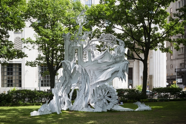 , 'Cliff House,' 2014, Madison Square Park
