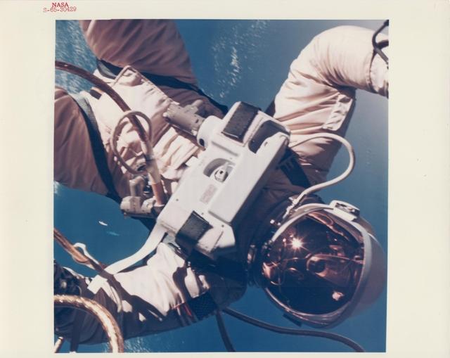 , 'Ed White walking in space over the Gulf of Mexico, Gemini 4, June 1965,' , Attollo Art