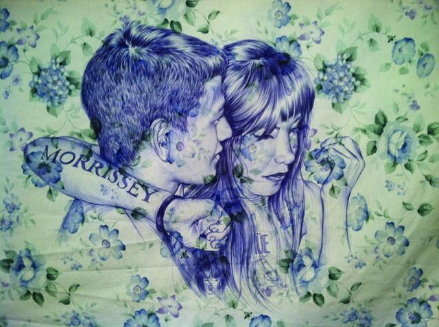, 'Embrace Series, Morrissey Night, Grandstar LA (detail),' 2009, bardoLA