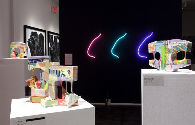 Lauren Mabry, 'Glaze Flow Blocks (20.03)', 2020, Sculpture, Earthenware, glaze, slip, Jonathan Ferrara Gallery