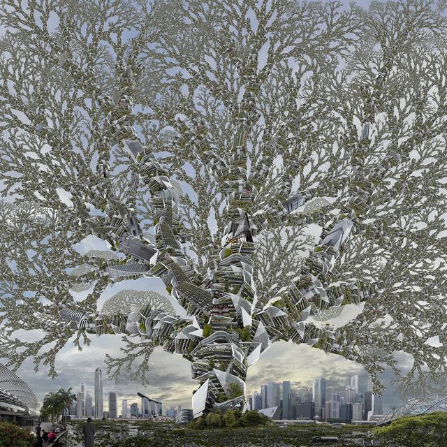 , 'Sand Crawler Tree,' 2017, Villa del Arte Galleries