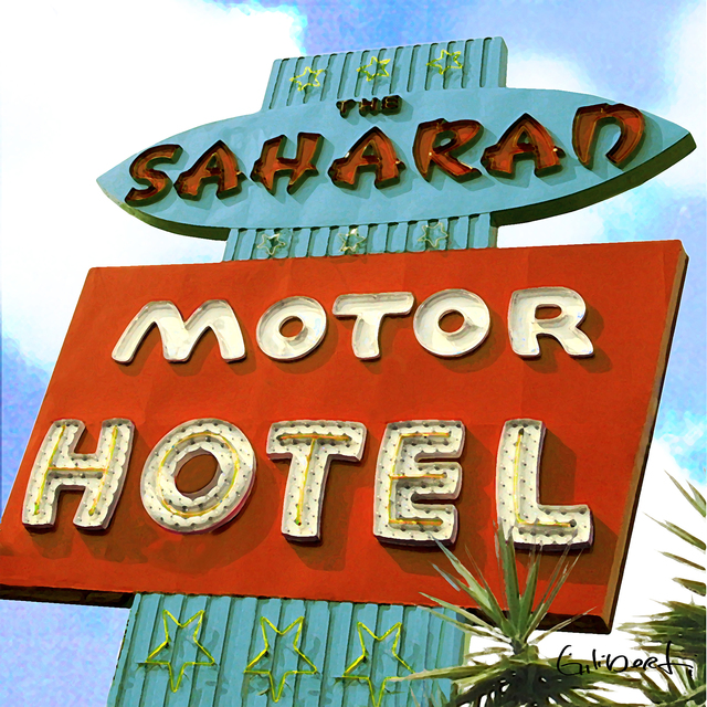 , 'Saharan Motor Hotel,' 2017, Artspace Warehouse