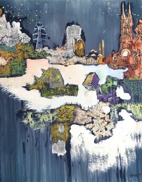 , 'Unbalanced Religion (Backgrounds),' 2017, ARTLabAfrica