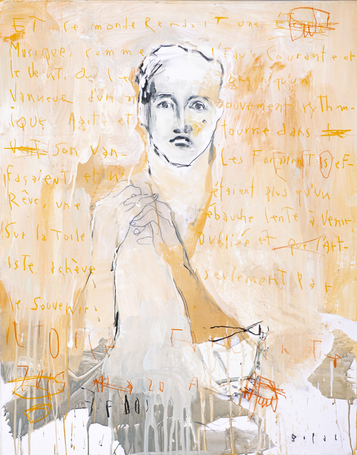 Gopal Dagnogo, 'Anonymous n°3', 2019, Painting, Mixed media on canvas, OH GALLERY