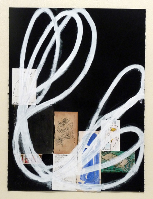 Raimundo Figueroa, 'Marshmallow', 2012-2013, Drawing, Collage or other Work on Paper, Oil pastels + acrylic + wax pencil + graphite + collage elements on paper, Biaggi & Faure Fine Art