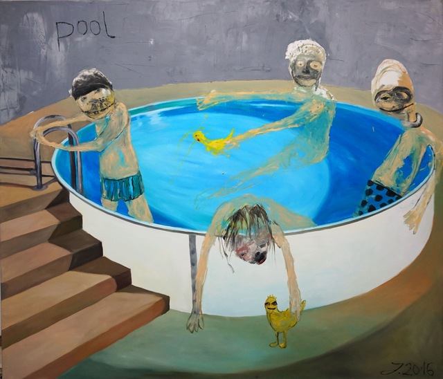 , 'Pool III,' 2016, Knight Webb Gallery