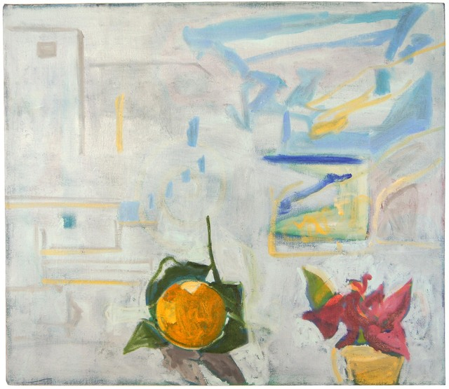 Margaret Tsirantonakis, 'After Chania Veranda with Orange', 2015, Prince Street Gallery