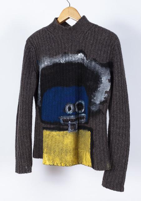 Pablo Calderon, 'Untitled (Portrait on Sweater)', 2018, Creativity Explored