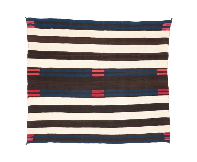 , 'The Rhodes Second Phase Chief's Blanket,' ca. 1850, Donald Ellis Gallery