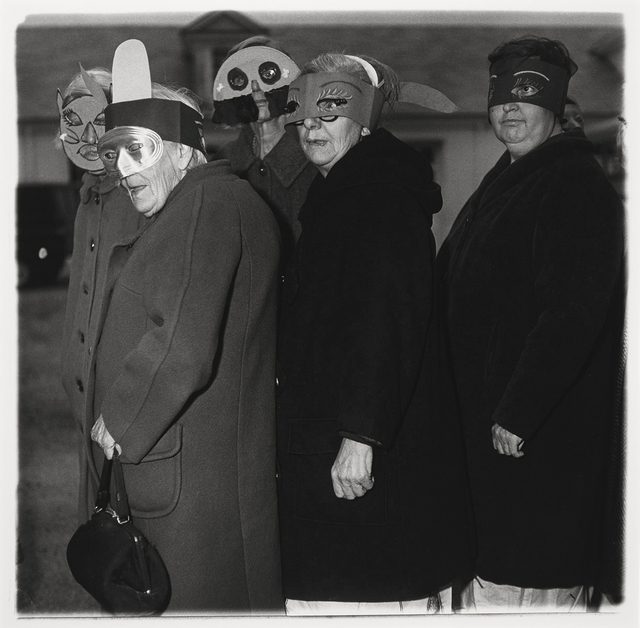 , 'Untitled (five women in masks),' 1970-1971, Etherton Gallery