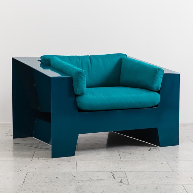 , 'Chris Rucker, Indoor/Outdoor Powder Coated Steel Low Club Chair, USA, 2017,' 2017, Todd Merrill Studio
