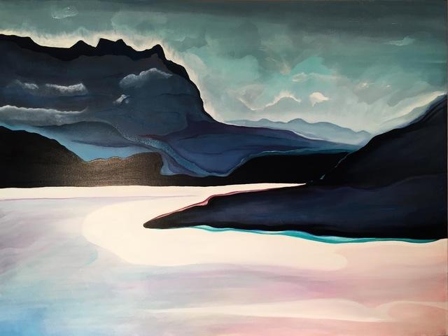 , 'Lake Silvaplana,' 2016, InLiquid