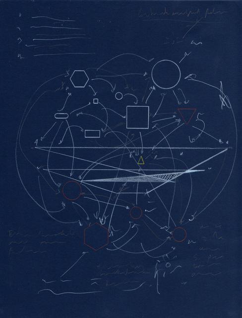 , 'Schematics for the future (blue),' 2018, CuratorLove