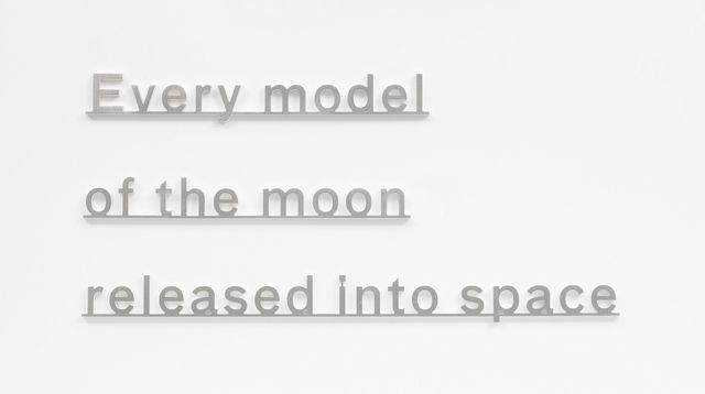 Katie Paterson, 'Ideas (Every model of the moon released into space)', 2017, James Cohan