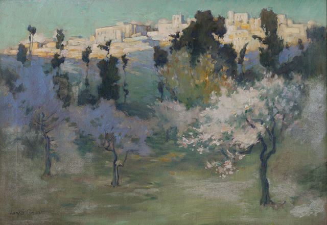 , 'Hilltop City,' n.d., Montclair Art Museum