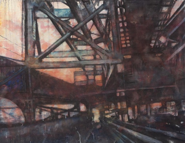 "Norbert Waysberg, '""Chaos in Brooklyn""', 2015, Gallery 104"