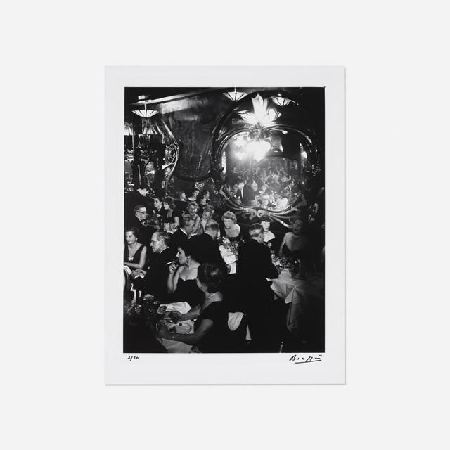 Brassaï, 'Soiree de gala, Chez Maxim's, Paris', 1949, Rago/Wright