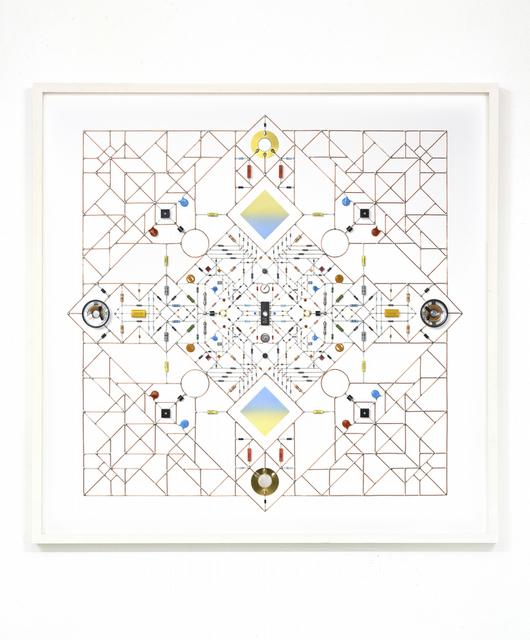 , 'Technological Mandala 102 (Square Seal),' 2017, Beers London