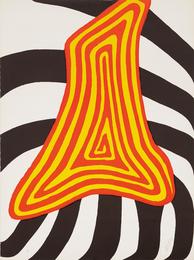Alexander Calder, 'Zebra juane et zebra noir,' 1976, Phillips: Evening and Day Editions (October 2016)