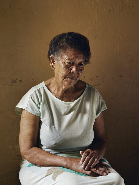 , 'Ann Sallies, who worked for my parents and helped raise me, Douglas,' 2013, PRISKA PASQUER