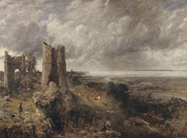 John Constable, 'Hadleigh Castle', 1828 to 1829, Yale Center for British Art