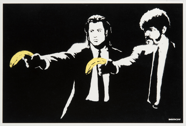 Banksy, 'Pulp Fiction', 2004, Tate Ward Auctions