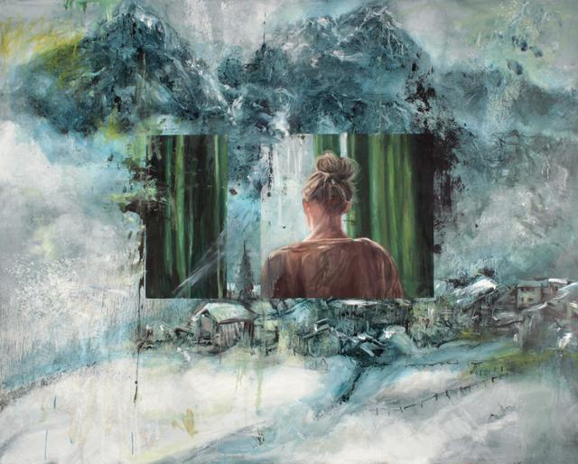 , 'Windows,' 2018, Kloser Contemporary Art