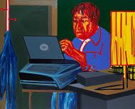 , 'The Man at Work,' 2011, Dong San Bang Gallery
