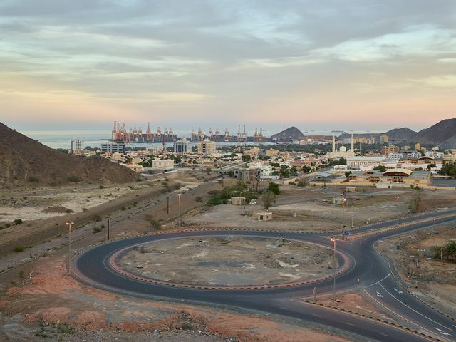 , 'Roundabout, Khor Fakkan, Sharjah (UAE),' 2014, Circuit Gallery