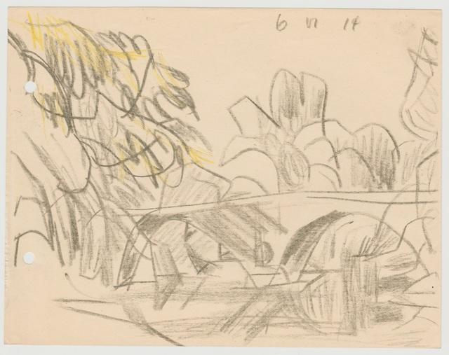 , 'Sternbrücke, Weimar,' 1914, Henze & Ketterer