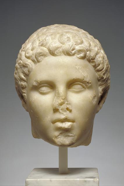 'Portrait of Hephaistion', ca. 320 BCE, J. Paul Getty Museum