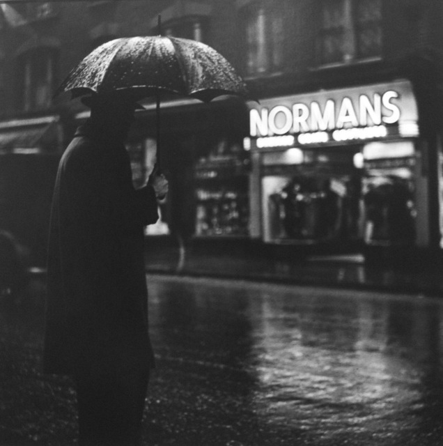 , 'London, Charing Cross Road (Normans),' 1937, Peter Fetterman Gallery