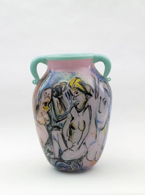 , 'Amphora: Western Civilization: Figures II (pink),' 2002, Nancy Hoffman Gallery