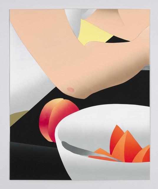 , 'Cantaloupe, Peach and Rug Burn,' 2015, P.P.O.W