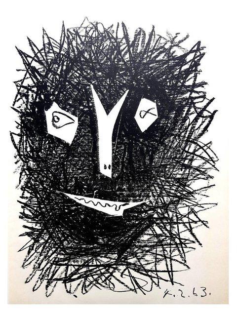 "Pablo Picasso, 'Original Lithograph ""Two Masks I"" by Pablo Picasso', 1963, Galerie Philia"