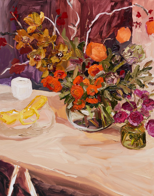 , 'Still life with yellow basket,' 2015, Olsen Irwin