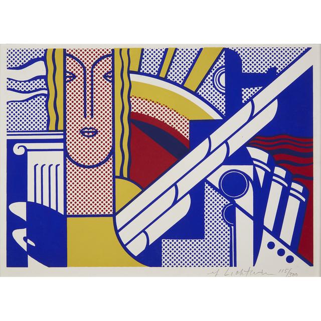 Roy Lichtenstein, 'Modern Art Poster', 1967, Freeman's