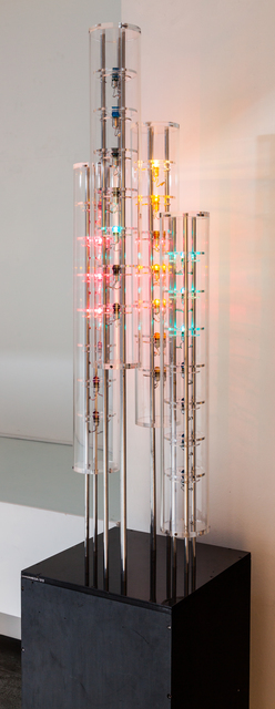 , 'couleurs sonores,' 1963-1966, Galerie Denise René