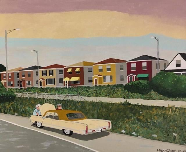 , 'Breakdown on the Eisenhower, Chicago, IL,' 2018, Clyde Hogan Fine Art