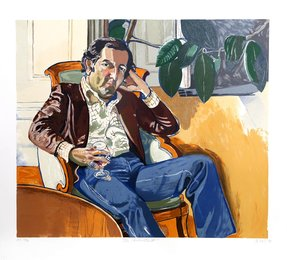 Alice Neel, 'The Accountant (Marvin),' 1981, Heritage Auctions: Holiday Prints & Multiples Sale