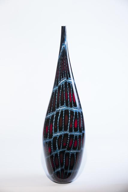 , 'Ruby Tear,' 2017, Ignite Glass Studio